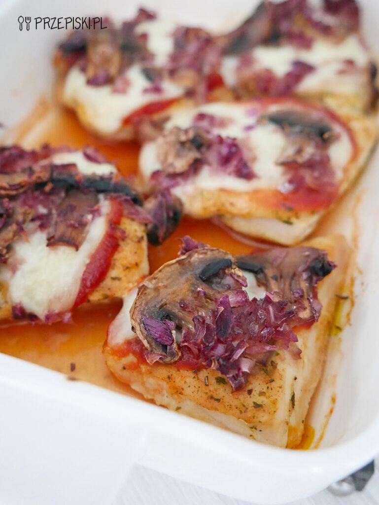 Filet z kurczaka z mozzarellą