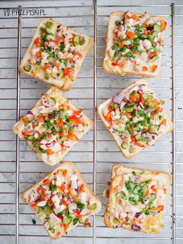 zapiekanki tostowe przepis